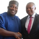 (PHOTONEWS)  Governor Ifeanyi Ugwuanyi with the Chairman, Post Primary School Management Board