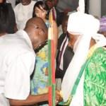 (Photonews) Gov. Oshiomhole receives Emir of Kano, Sanusi in Benin