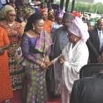 (Photonews) Aisha Buhari visits Enugu