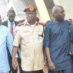 Lagos accounts for 70% of Nigeria's transportation network – FRSC; I have political will to tackle traffic gridlock – Ambode
