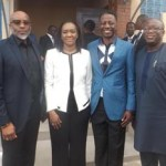 (Photonews) Ex-gov. Fayemi, Adeyemi at Daystar's Excellence in Leadership Conference 2015