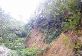 The menace posed by erosion in the state