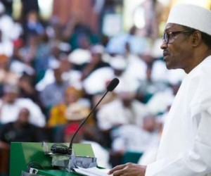 Buhari at joint session of NASS, Tuesday