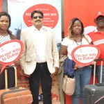 Airtel's Red Hot Promo 3: Winners depart for Dubai with friends, family