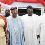 (Photonews)  Gov. Ambode at the Island Club, Lagos  2015 Christmas Eve Dance