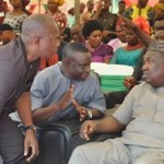 (Photonews) Gov Ugwuanyi at special reception and thanksgiving service in Enugu