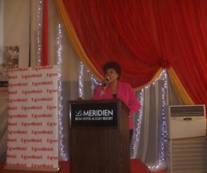 MPN's Mr. Paul Arinze represented by Mrs Udobong
