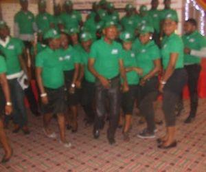 The GAP graduands