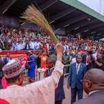 President Buhari campaigns in Enugu, Anambra states; Commissions  Zik Mausoleum in Onitsha