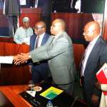 NSEZCOM and investment partners sign agreement with President Buhari presiding