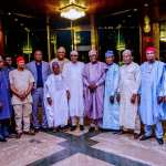 President Buhari challenges historians, economists to document 16 years of PDP's mismanagement as 12 presidential candidates endorse his re-election