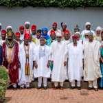 Gov Polls: Bello splashes N2.5 million on monarchs but President Buhari says Kogites'll decide