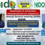 Nigerians In Diaspora Organisation of Americas holds AGM in Houston Texas