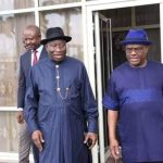 Gov. Wike felicitates with former President Goodluck Jonathan at 62