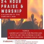 African Strategic Leadership Prayer Network holds 24 hours Praise & Worship in Washington DC
