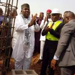 Ugwuanyi lays foundation for Peace Mass Transit proprietor's entrepreneurial University    …Says education remains one of the cardinal policies of his administration