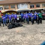 Nestlé Nigeria employees clean markets across the country