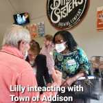 Lilly Anyanwu shines at 'Meet and Greet' event for Addison Texas City Council candidates