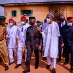 Vice President Osinbajo in Owerri, commissions road project, visits attacked Police, Prison facilities
