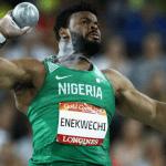 Olympics: Enekwechi fails in men's shot put; Women 4 x 100m relay team flops