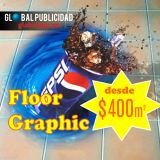 Floor graphic, desde $400 m2