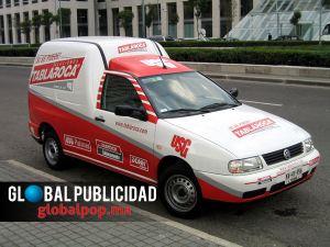 Rotulación de vehículos con vinil impreso o recorte.