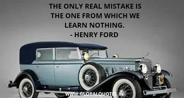 Henry Ford Quotes On Work