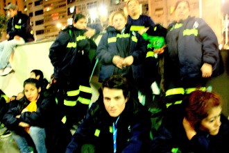MTE at the vigil. (Photo: Deia de Brito)