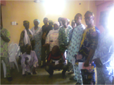 Participants of the Ibadan, Nigeria, workshop. (Photo: FIWON)