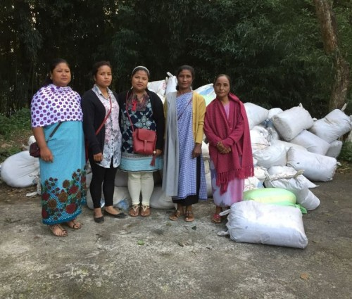 Members of Iainehskhem Self-Help Group (SHG)