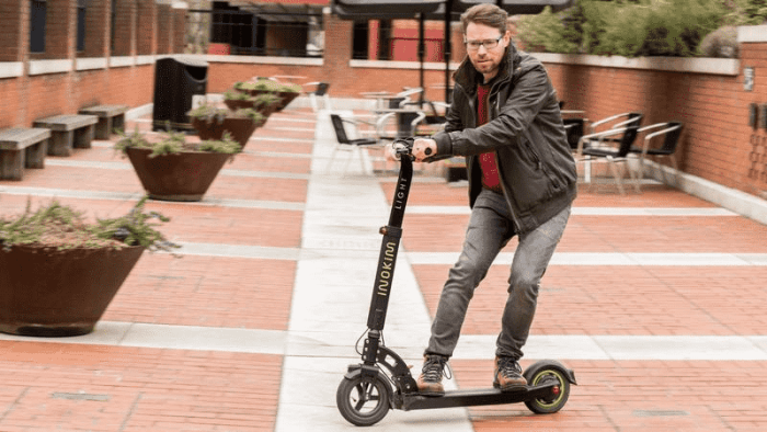 Renting an Electric Scooter