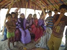 Des membres de la famille d'Omar . Au village avant la guerre