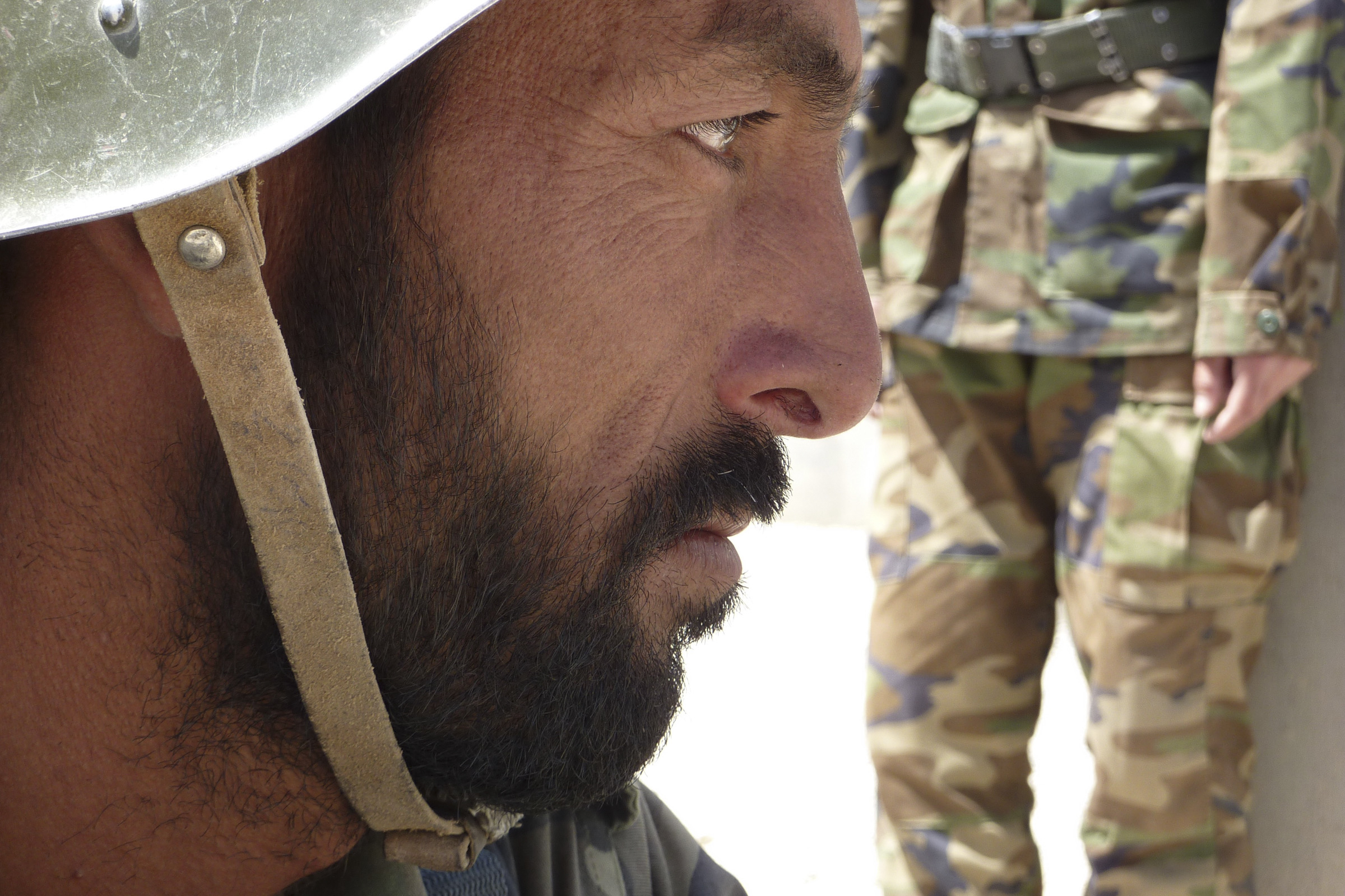 Afghan Soldier (Photo by Ann Jones)