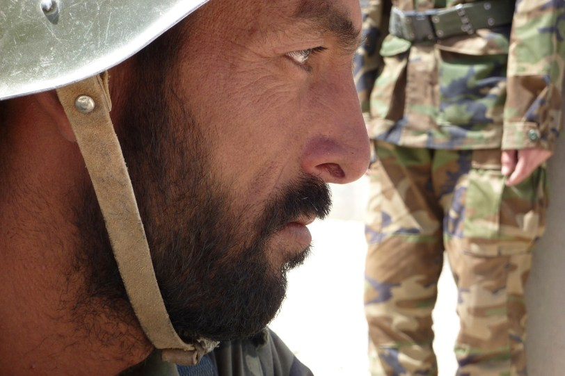 Afghan Soldier (Photo by Ann Jones)