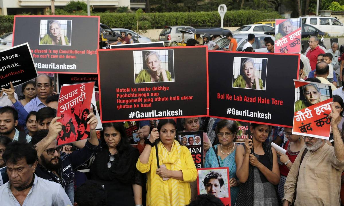 Silencing the voices of dissent in India