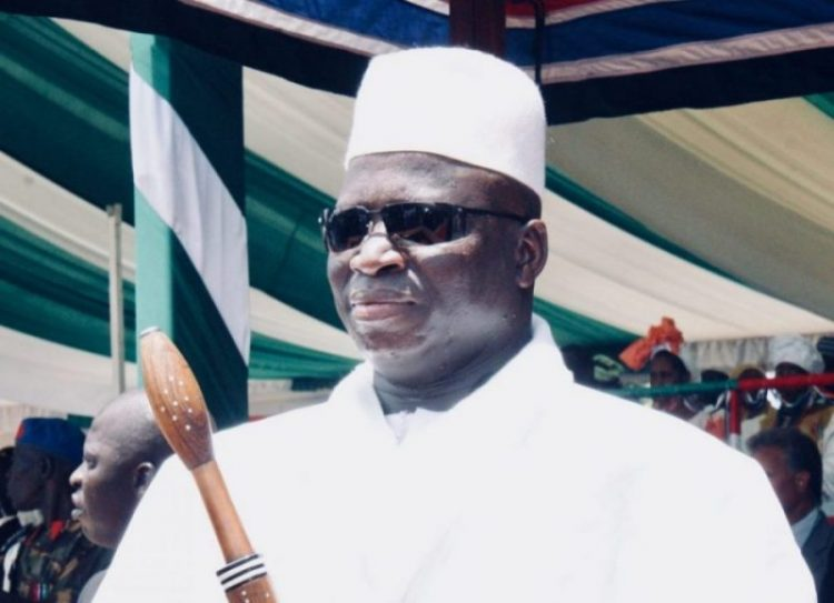 Gambia's former President Yahya Jammeh