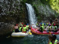 Rafting, waterfalls...