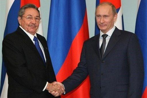 Castro and Putin