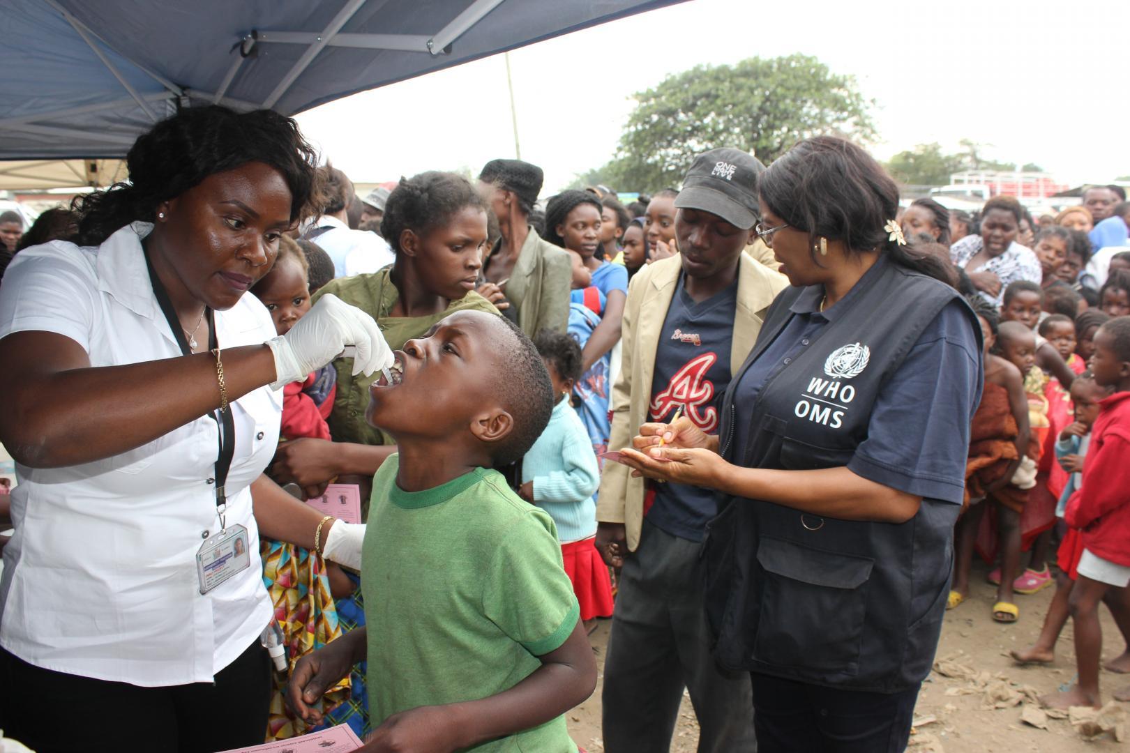 Mass immunisation in Africa