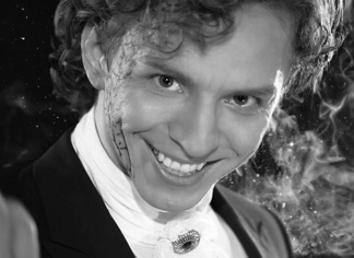 Singer Nikolay Gladskikh at the Cannes Fashion and Global Short Film Awards