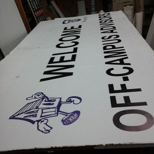3' x 8' banner