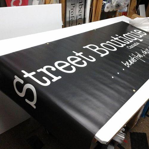 4x6 Banner w/ grom