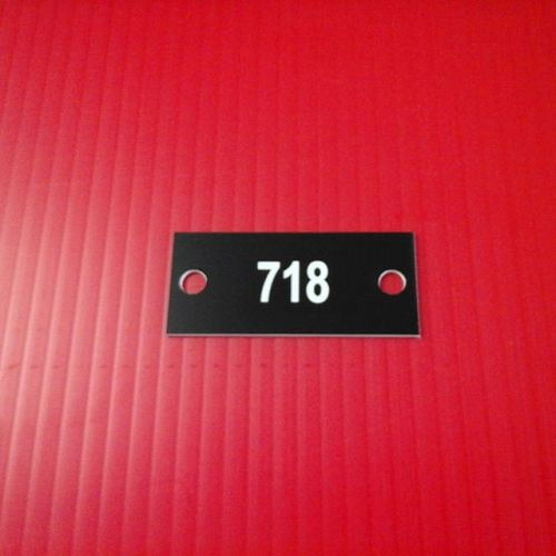 "1.125"" x 2.5"" laser mailbox numbers"