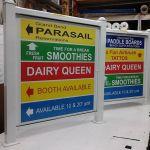 Digital prints on alumapanel in frames