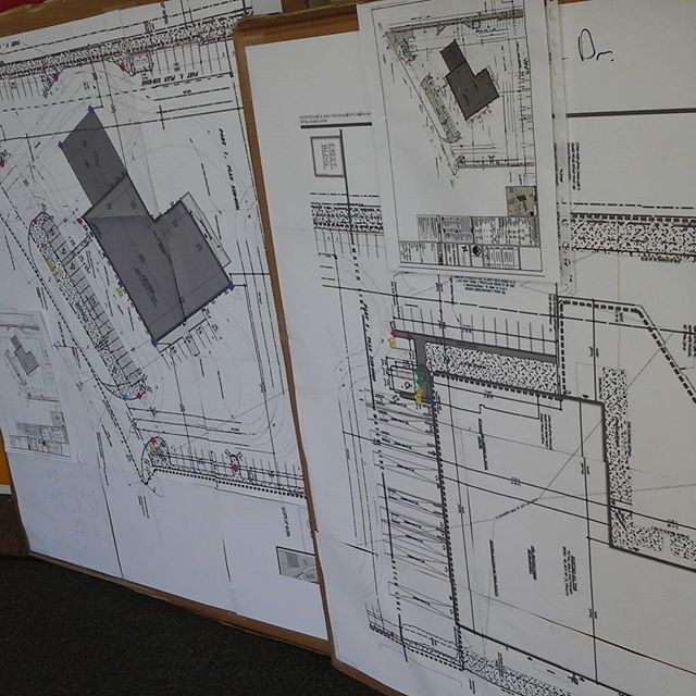 Site Plans For Parking Signs Install