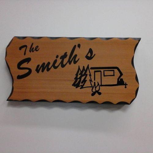 Rustic Cedar Sign