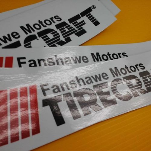 Fanshawe Motors Decals