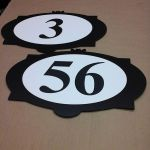 Condo address plaques