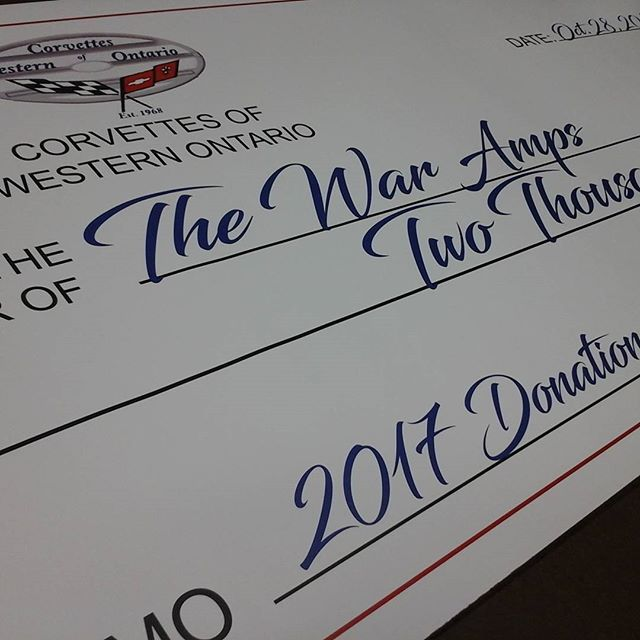 Poster Cheque