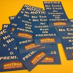 Notice Stickers
